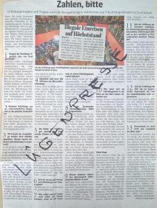 So schickte eine Leserin der Ruhr-Nachrichten eine Seite zurück, auf denen Fakten zu Flüchtlingen aufgelistet wurden
