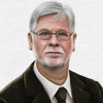 Paul-Josef Raue (Zeichnung: Anke Krakow / TBM)