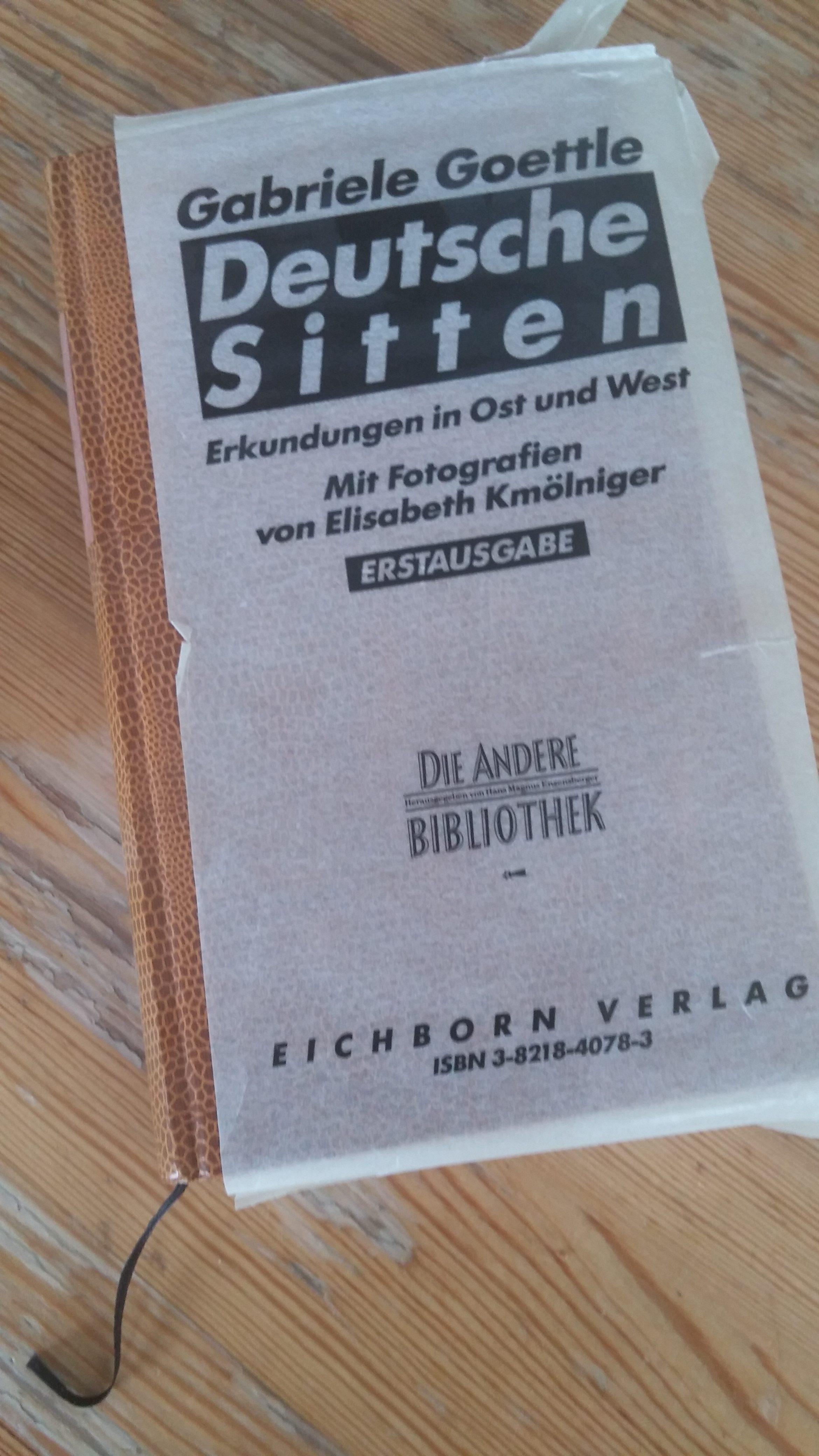"Gabriele Goettles erstes Buch erschien in Enzensbergers ""Die andere Bibliothek"". (Foto: Raue)"