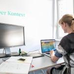 Julia Koeberlein, Gründerin von  Kontext.com (Foto aus ihrem Blog)