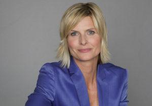 Barbara Hahlweg moderierte die Heute-Sendung am Abend des München-Amoklaufs. Foto: ZDF-Carmen Sauerbrei