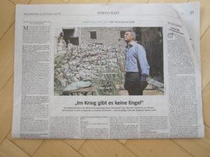 Muhannad Hadi im Interview mit der Süddeutschen Zeitung (22. Juli 2016)