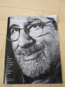 Das SZ Magazin 28/2016 mit dem Steven-Spielberg-Interview.