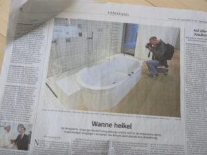 Panorama-Seite der Süddeutschen Zeitung vom 30. August 2016