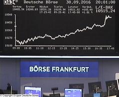 Die Börse in Frankfurt (Foto: Deutsche Börse)