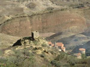 Höhlenkloster Garedshi in Georgien - Foto Raue