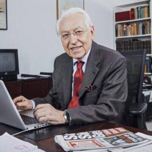 Ernst Elitz ist der erste Ombudsmann der Bildzeitung. Foto: Bild