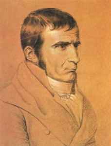 Der Spaziergänger nach Syrakus: Johann Gottfried Seume. Foto: Wikipedia