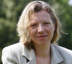 Henriette Löwisch leitet die Deutsche Journalistenschule in München (Foto: kress.de / Dietmar Gust)